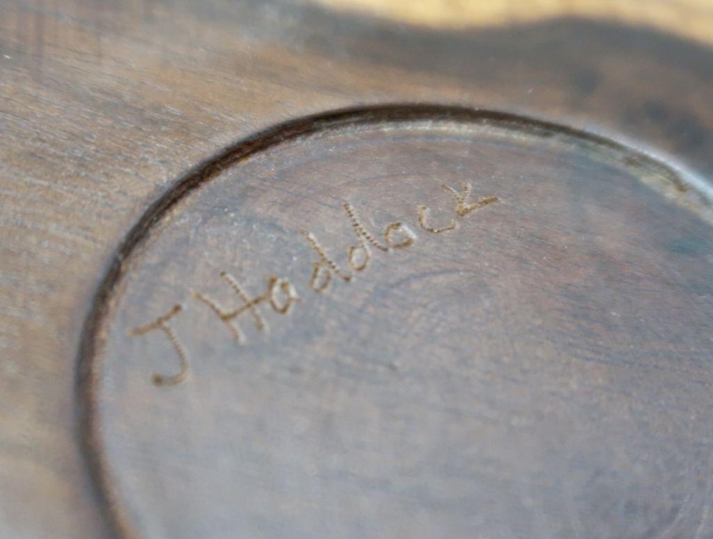 """John Haddock MACADAMIA NUT BOWL: 8""""x3.5"""""""