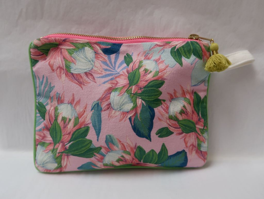 """Lauren Roth CLUTCH: PINK DREAMING (approx. 7"""" x 9"""")"""