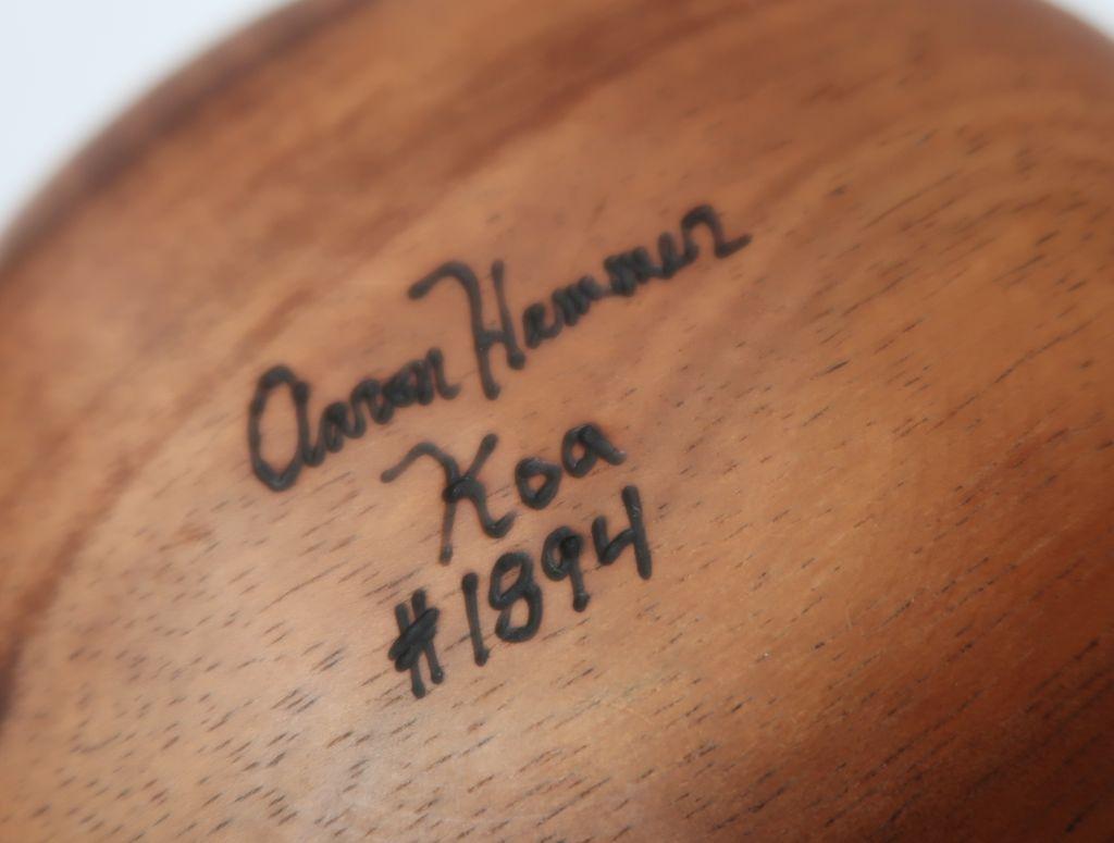 """Aaron Hammer #1894 KOA BOWL TRADITIONAL 6""""X4"""""""