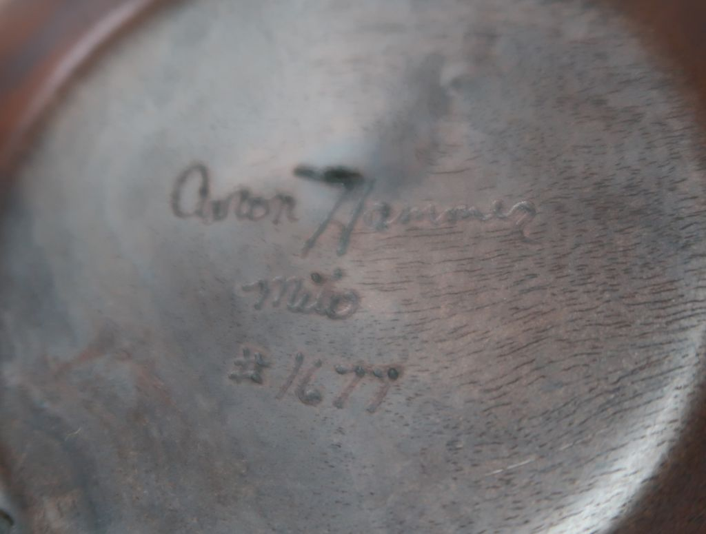 Aaron Hammer 1677 MILO CROTCH W/BARK EDGE