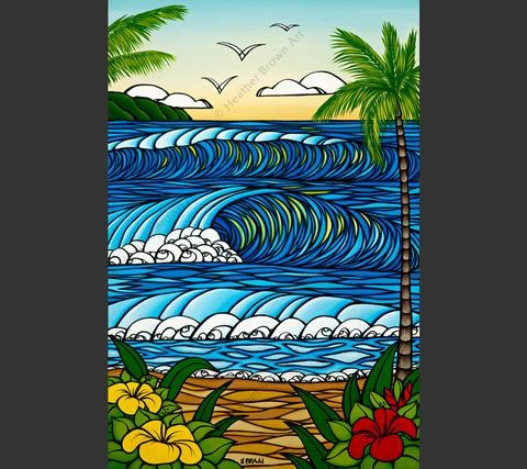 """Heather Brown A DAY IN PARADISE, 16""""X24"""" GALLERY WRAP GICLEE ON CANVAS, LIMITED EDITION #216/250, SO19117"""