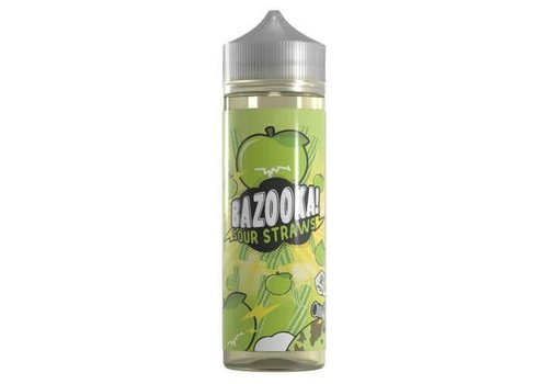 Bazooka Sour Straws - Green Apple