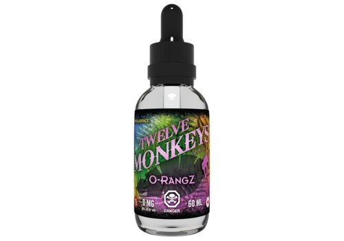 12 Monkeys - OrangZ 60ML