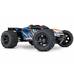 TRAXXAS TRA86086_ORNG E-REVO VXL BRUSHLESS:  1/10 SCALE 4WD BRUSHLESS ELECTRIC MONSTER TRUCK WITH TQI 2.4GHZ TRAXXAS LINK ENABLED RADIO SYSTEM AND TRAXXAS STABILITY MANAGEMENT (TSM)