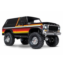TRAXXAS TRA82046-4_SUN TRX-4 SCALE AND TRAIL CRAWLER WITH FORD BRONCO BODY:  4WD ELECTRIC TRUCK WITH TQI TRAXXAS LINK ENABLED 2.4GHZ RADIO SYSTEM