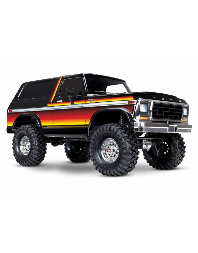 Channel Ford Bronco 4x4 Subaru Coffee 1969 Xlt Traxxas Tra82046 4 Sun Trx Scale And Trail Crawler With Body