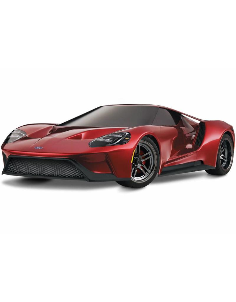 Traxxas Tra _red Ford Gt   Scale Awd Supercar With Tqi