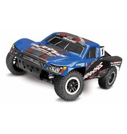 TRAXXAS TRA68086-4_BLUE SLASH 4X4: 1/10 SCALE 4WD ELECTRIC SHORT COURSE TRUCK WITH TQI TRAXXAS LINK ENABLED 2.4GHZ RADIO SYSTEM & TRAXXAS STABILITY MANAGEMENT (TSM)