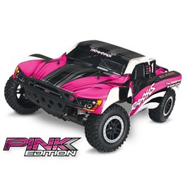 TRAXXAS TRA58034-2_PINK SLASH: 1/10-SCALE 2WD SHORT COURSE RACING TRUCK WITH TQ 2.4GHZ RADIO SYSTEM AND ON-BOARD AUDIO