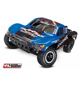 TRAXXAS TRA58034-2_BLUE SLASH: 1/10-SCALE 2WD SHORT COURSE RACING TRUCK WITH TQ 2.4GHZ RADIO SYSTEM AND ON-BOARD AUDIO