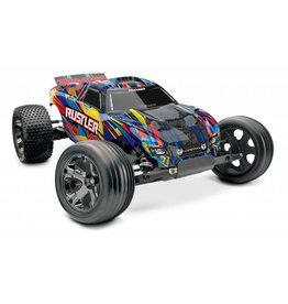 TRAXXAS TRA37076-4 RUSTLER VXL RNR:  1/10 SCALE STADIUM TRUCK WITH TQI TRAXXAS LINK ENABLED 2.4GHZ RADIO SYSTEM & TRAXXAS STABILITY MANAGEMENT (TSM)