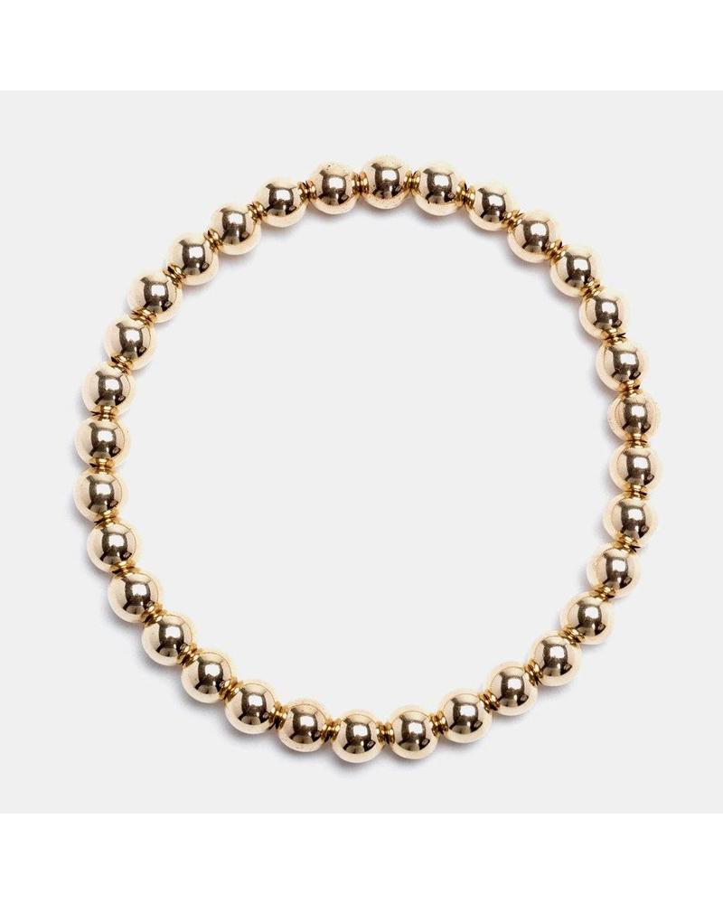 Karen Lazar 5mm beaded bracelet
