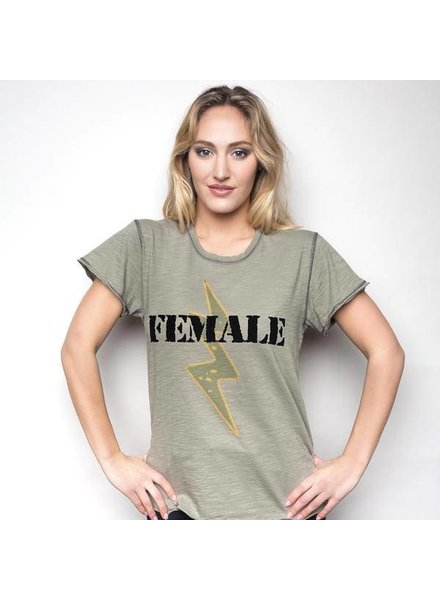 Unsweetened NY Female Army Tee