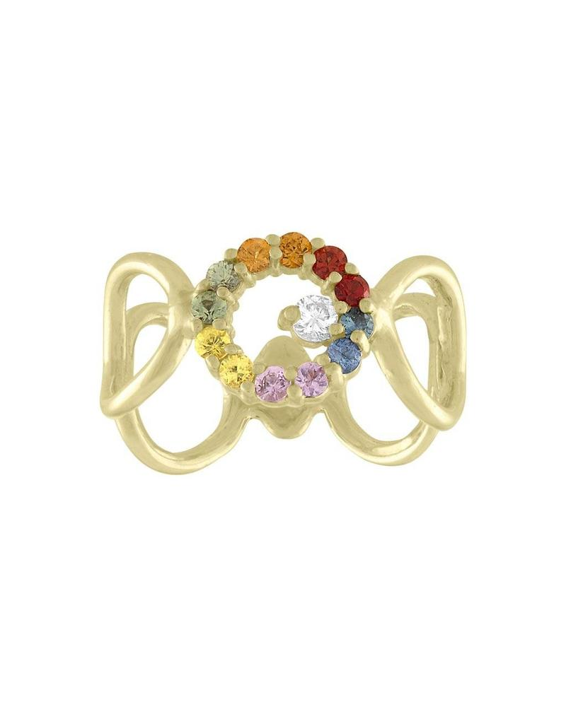 Eden Presley Bubbles Rainbow Ring