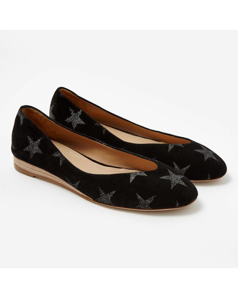 Sclarandis Nina Balerina Black Glitter Star