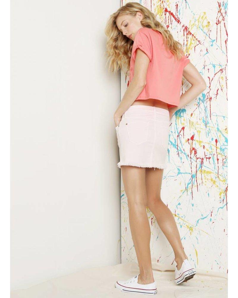 James Jeans Mia Cut-Off Mini Skirt