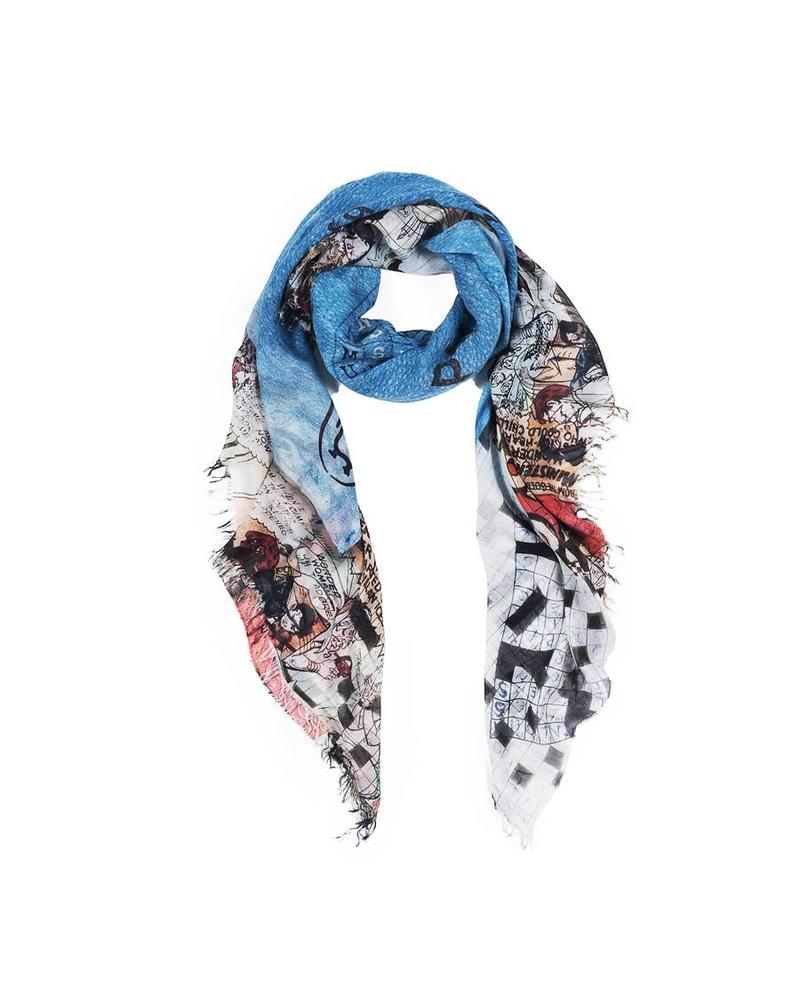 Suzi Roher Christina Scarf - Puzzle of Love