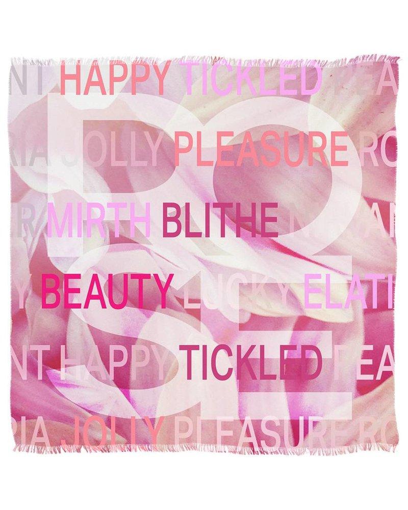 Suzi Roher Christina Scarf - Rose Pink