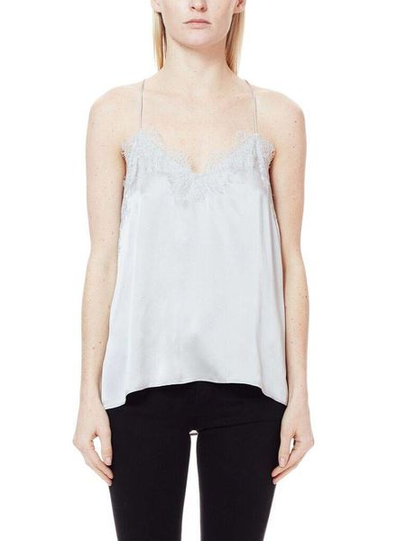 CAMI NYC The Racer Charmeuse Platinum F18