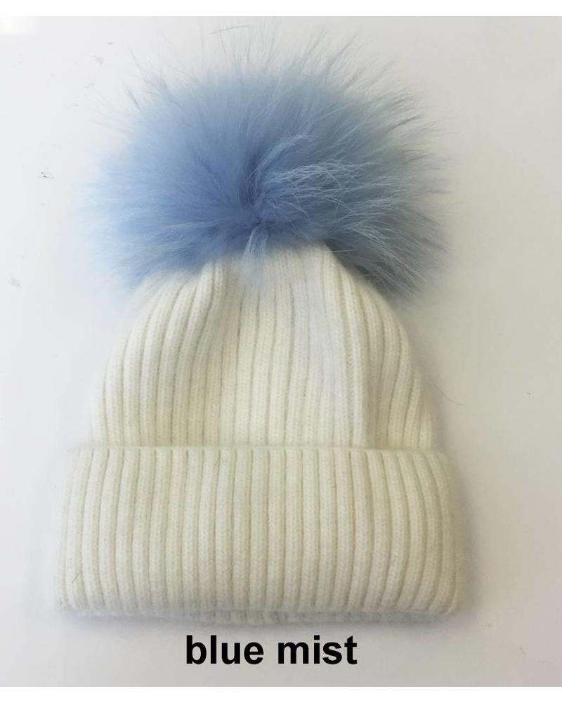 Linda Richards HA 62W Pom Pom Hat