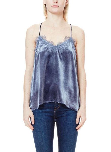 CAMI NYC The Racer Liquid Velvet Mercury F18