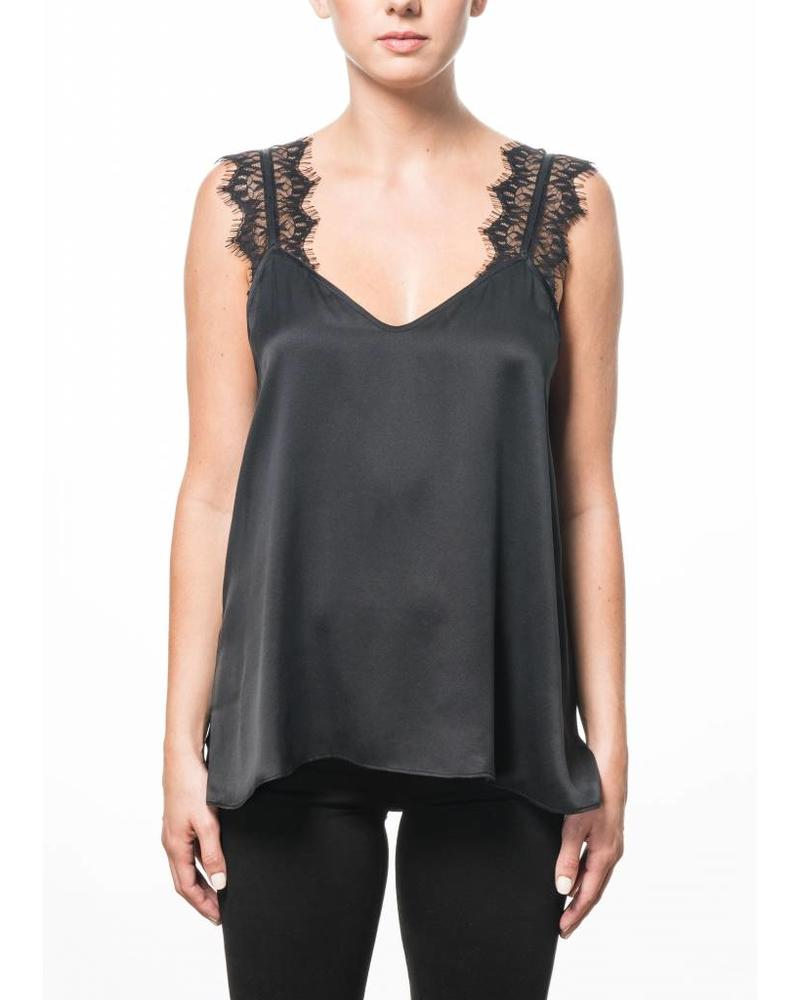 CAMI NYC The Chelsea Charmeuse Black F18