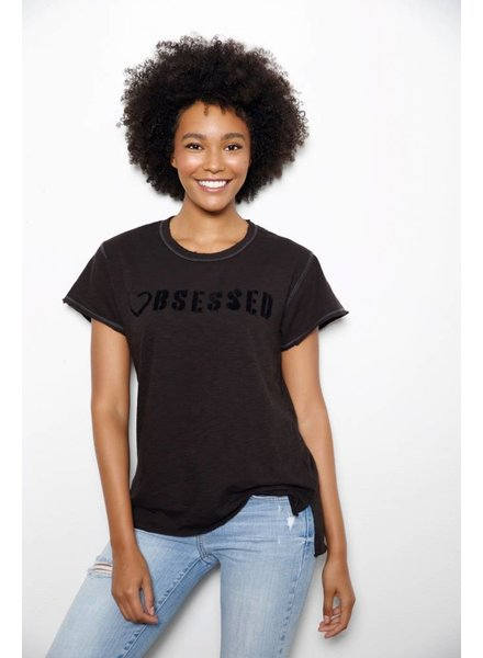 Unsweetened NY Obsessed Black Tee F18