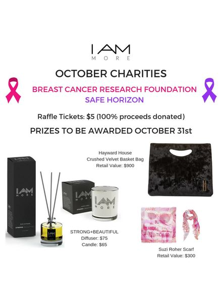 I AM MORE Raffle Ticket - October Charities