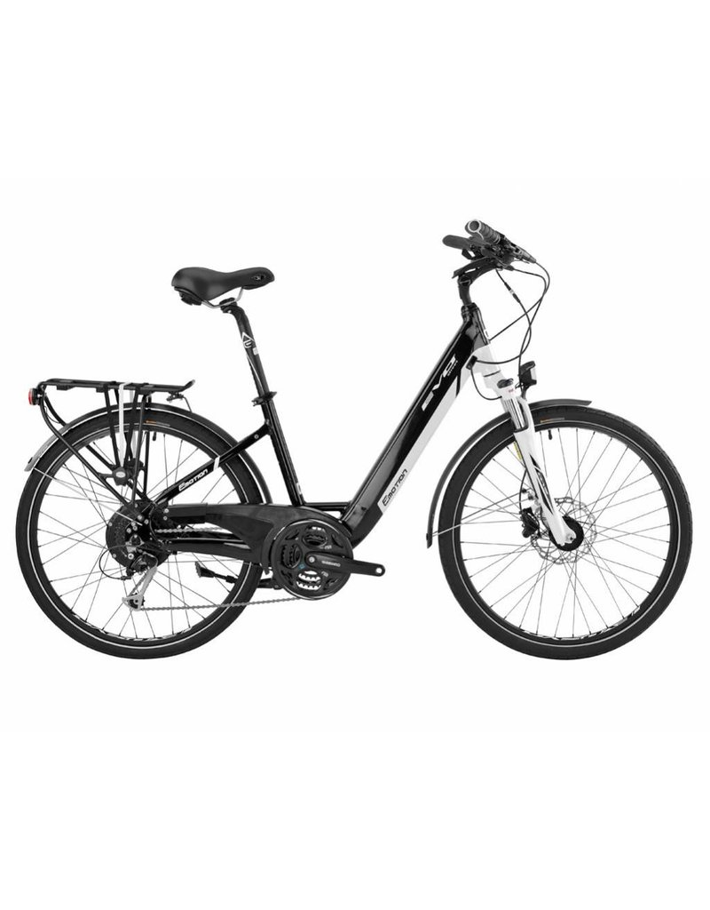 "EasyMotion Easy Motion EVO Street PRO 26"" Electric Step-Thru Bike WHITE/Black MD"