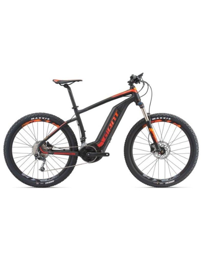 Giant 2018 Giant Dirt E+ 2 27.5 Electric HT MTB Bike Black/Red/Orange MD *ON SALE*
