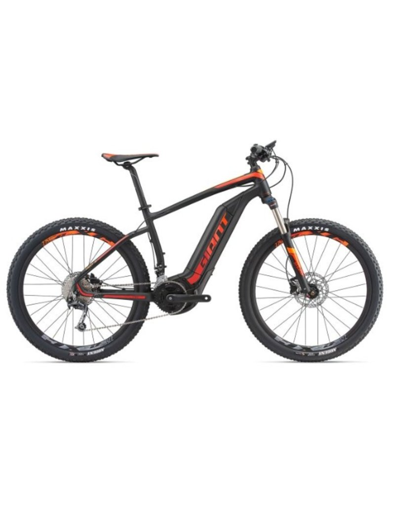 Giant 2018 Giant Dirt E+ 2 27.5 Electric HT MTB Bike Black/Red/Orange SML