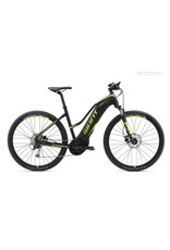 Giant 2018 Giant Explore E+ 3 Staggered Lo-Step Electric MTB Hybrid Bike Black/Lime SML
