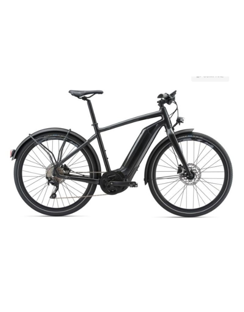 Giant 2018 Giant Quick E+ Metallic Anthracite Electric Road Hybrid Bike MD