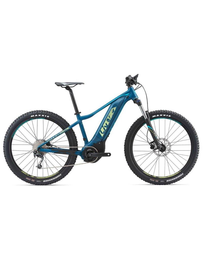 Giant 2018 Liv Vall-E+3 Dark Turquoise Blue XS Women's Electric Mountain Bike
