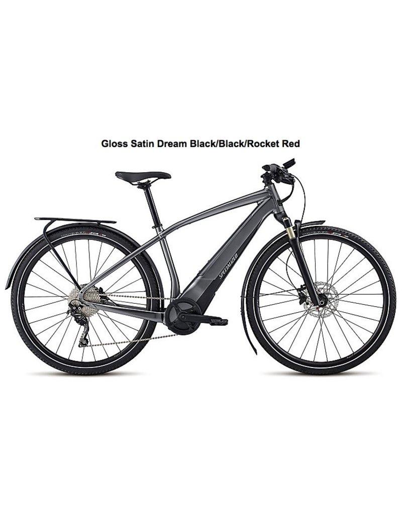 Specialized 2018 Specialized Turbo Vado 3.0 Electric Road Hybrid Bike Gloss Satin/Black MD