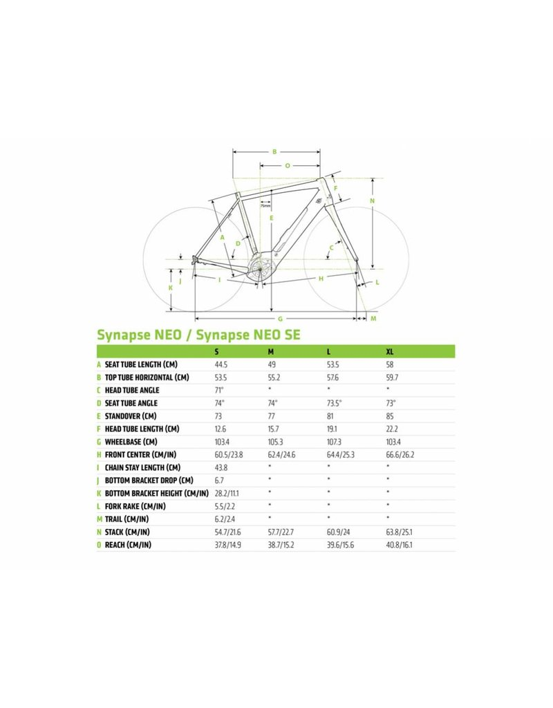 Cannondale 2019 Cannondale Synapse NEO 2