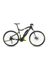 "HaiBike 2017 Haibike SDuro Cross High-Step 4.0 28""/700 Electric MTB Hybrid Bike Black/Yellow 64cm/XXL *ON SALE*"