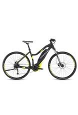 """HaiBike 2017 Haibike SDuro Cross Lo-Step 4.0 28""""/700 Electric MTB Hybrid Bike Black/Yellow 48cm/SML *ON SALE*"""