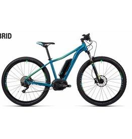 2016 Cube Access Hybrid Race 400 Electric Women's HT MTB Bike Blue/Green 19 ***ON SALE***