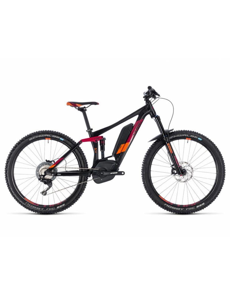 Cube 2018 Cube Sting Hybrid 140 Race 500 27.5 Women's Electric MTB Bike
