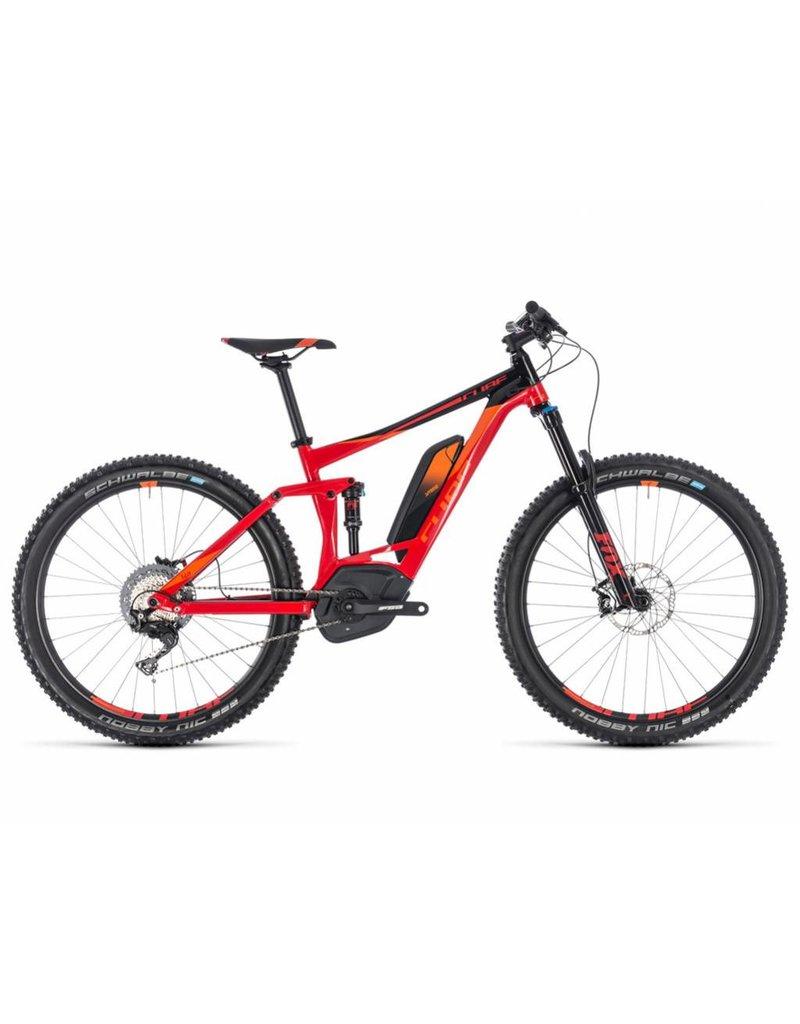 Cube 2018 Cube Stereo Hybrid 140 Race 500 27.5 Electric FS MTB Bike