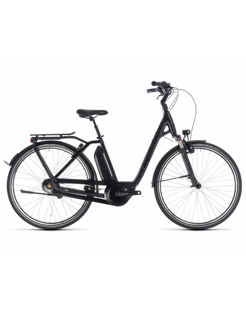 Cube 2018 Cube Town Pro Hybrid 500 Electric Comfort Easy Step-Thru Hybrid Bike