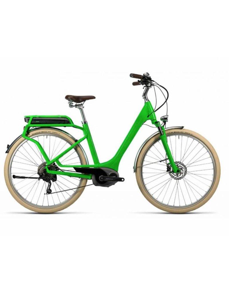 Cube 2016 Cube Elly Ride Hybrid 400 Electric Comfort Step-Thru Hybrid Bike Kiwi Green 50/LRG *ON SALE*