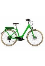 2016 Cube Elly Ride Hybrid 400 Electric Comfort Step-Thru Hybrid Bike Kiwi Green 46/MD *ON SALE*