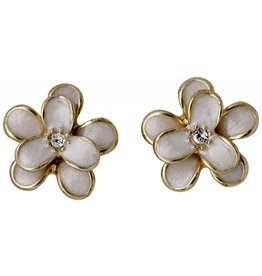 Gold Plated Flower Studs