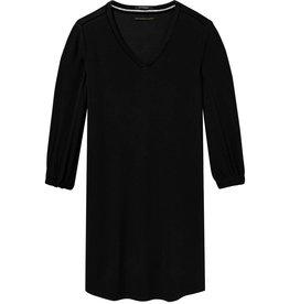 Long Sleeve V-Neck Dress with Ladder Details