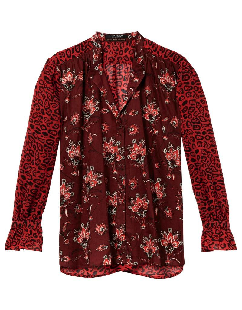 Relaxed Fit Mix Printed Shirt