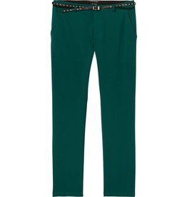 Tailored Sweat Pants with Belt