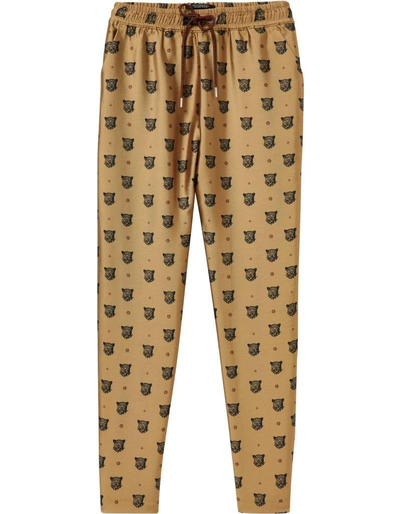 Pantalon imprimé jaguar