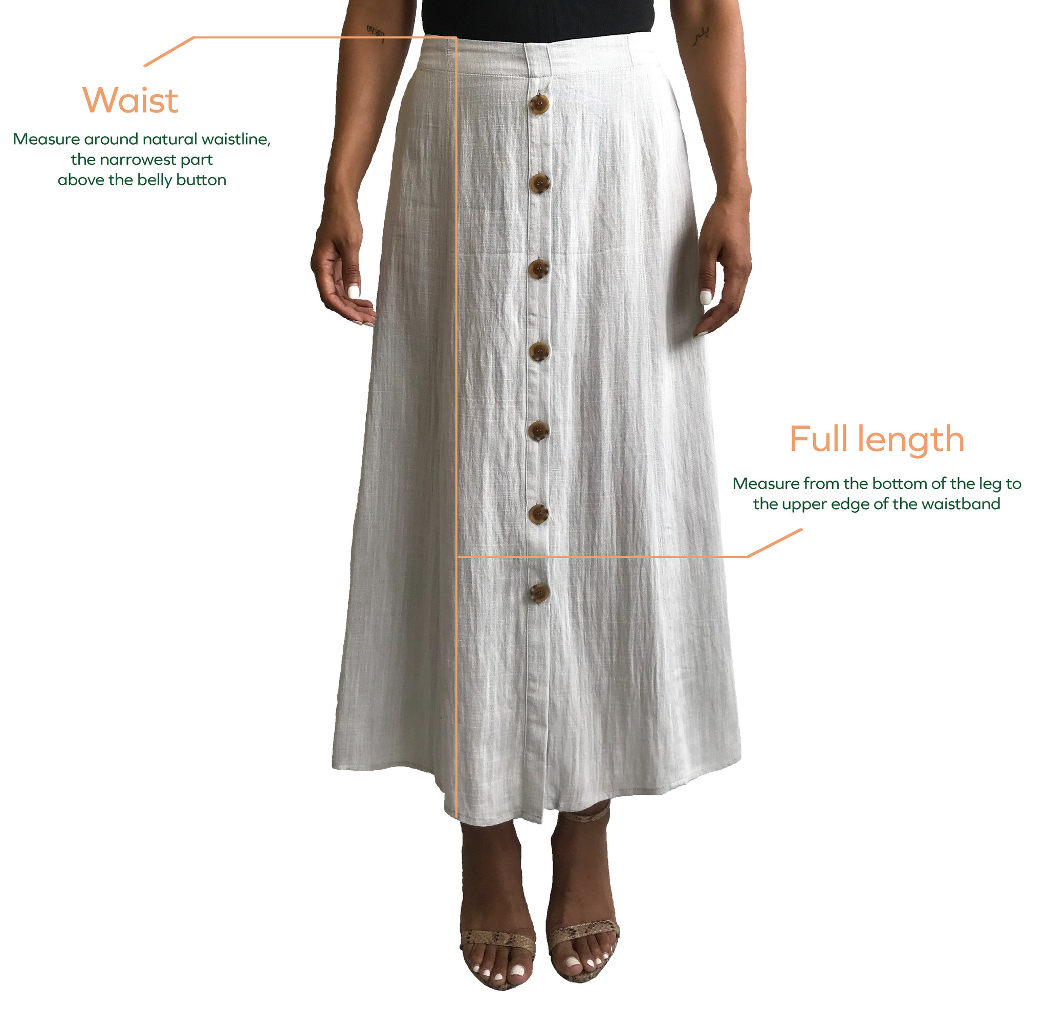 Skirt/Dress Measurements